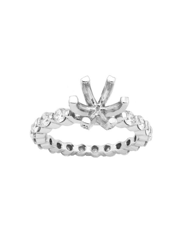 Eternity Diamond Engagement Mounting