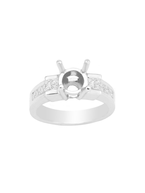 Prong Set Engagement Mounting