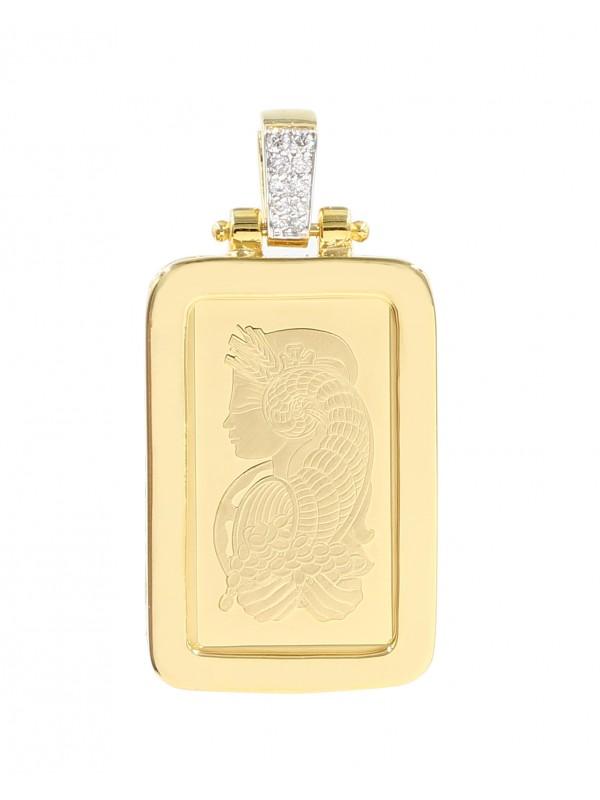 Lady Fortuna Gold Bar