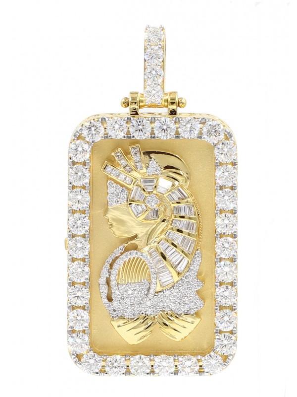 Lady Fortuna Diamond Pendant